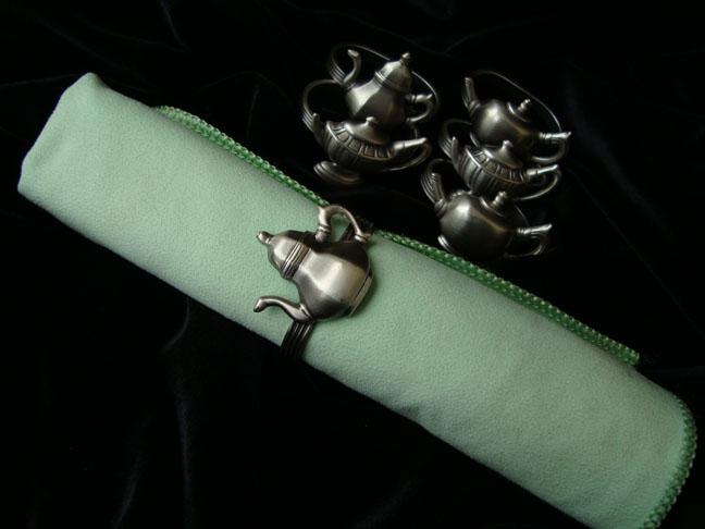 Антикварные кольца для салфеток