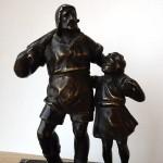 """Бронзовая скульптура """"Вильгельм Тель"""""""