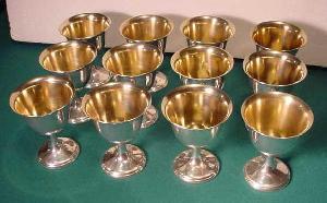 Антикварные винные бокалы