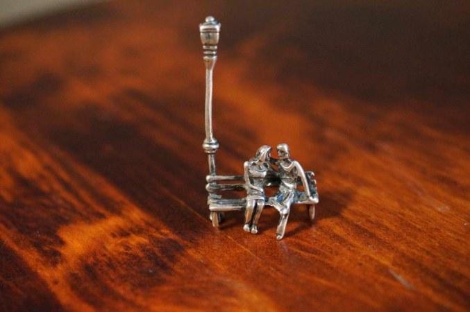 """Серебряная миниатюра """"Свидание"""""""