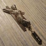 Винтажная серебряная булавка