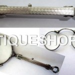 Антикварный серебряный лорнет