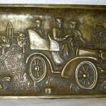 Фотография бронзовой пепельницы