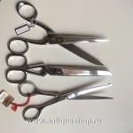 Комплект старинных ножниц