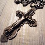 Старинный нательный крест