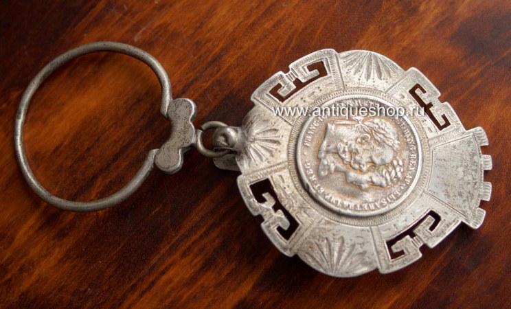 Старинное кольцо для ключей