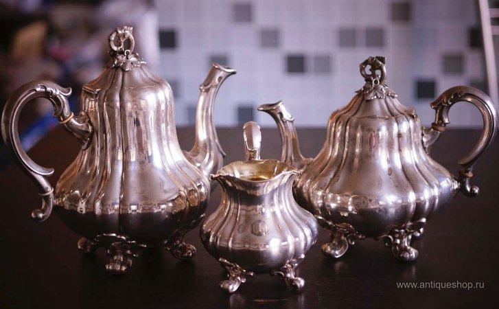 Старинный чайный набор