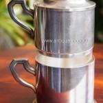Серебрёный кофейный набор