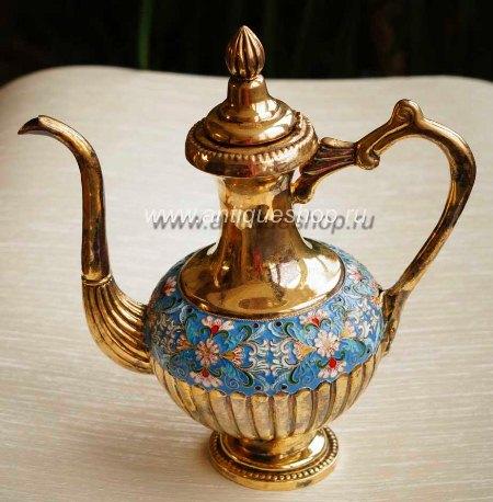 Старинный заварной чайник