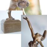 Фотография фрагментов эротической скульптуры
