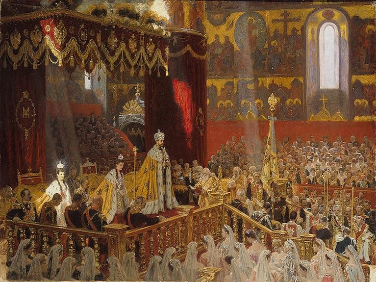 Иллюстрация коронации