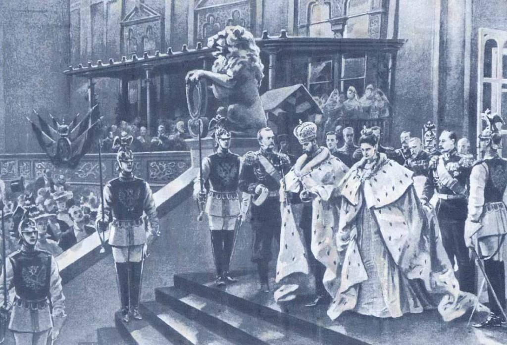 Фото Коронации Последнего Императора России