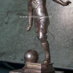 """Фото изделия из серебра """"Футболист"""""""