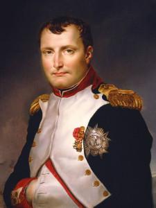 Фотография портрета Наполеона