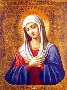 Святая богородица. Икона
