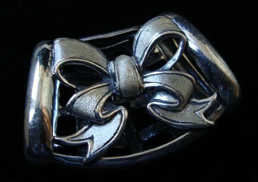 Украшение для платка и шарфика. Серебро 925